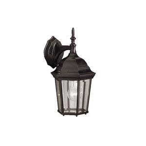 Madison Black Outdoor Wall-Mount Lantern