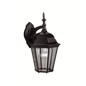 Madison Small Black Outdoor Wall Mount