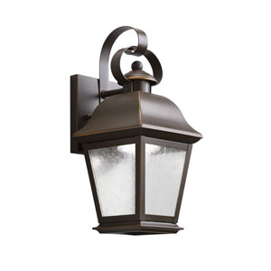 Mount Vernon Olde Bronze 28-Light LED Outdoor Small Wall Sconce