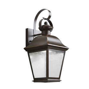 Mount Vernon Olde Bronze 7.5-Inch 28-Light LED Outdoor Small Wall Sconce