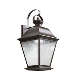 Mount Vernon Olde Bronze 28-Light LED Outdoor Medium Wall Sconce