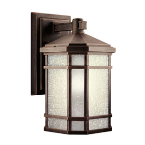 Cameron Prairie Rock Outdoor Wall-Mount Lantern