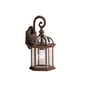 Tannery Bronze Cast Aluminum Outdoor Wall-Mounted Lantern
