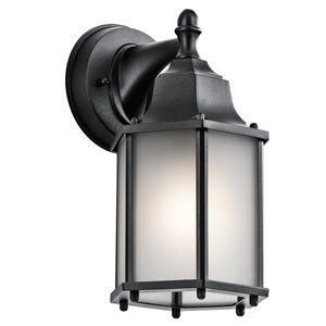 Chesapeake Black One-Light Outdoor Wall Sconce