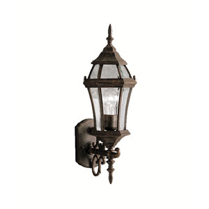 Townhouse Large Tannery Bronze Outdoor Wall Mount