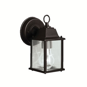 Barrie Black 5-Inch LED One-Light Outdoor Wall Sconce
