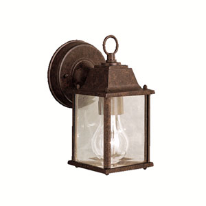 Barrie Tannery Bronze 5-Inch LED One-Light Outdoor Wall Sconce