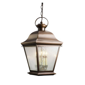 Mount Vernon Large Bronze Outdoor Hanging Pendant