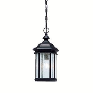 Kirkwood Black Outdoor Pendant Lantern