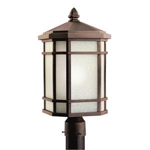 Cameron Prairie Rock Outdoor Post-Mount Lantern