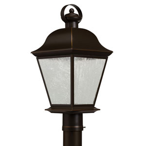 Mount Vernon Olde Bronze 28-Light LED Outdoor Post Lantern