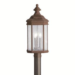 Kirkwood Tannery Bronze Outdoor Post-Mounted Lantern