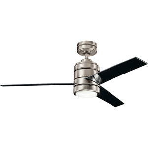 Arkwright Antique Pewter 38-Inch Ceiling Fan with Light