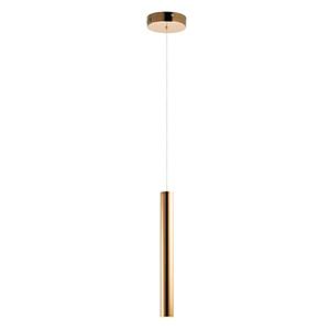 Flute Rose Gold 23-Inch LED Mini Pendant