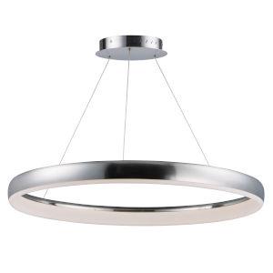 Innertube Satin Nickel One-Light LED Pendant