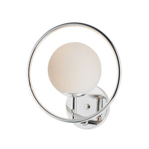 Revolution Polished Nickel 11-Inch One-Light Bath Vanity