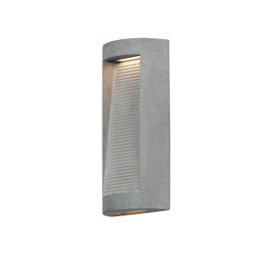 Boardwalk Graystone 16-Inch Two-Light LED Wall Sconce