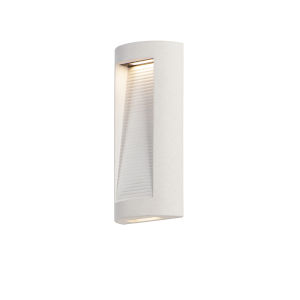 Boardwalk Sandstone 16-Inch Two-Light LED Wall Sconce