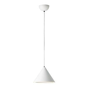 Abyss Matte White LED Mini Pendant