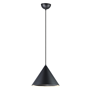 Abyss Black LED Single Pendant