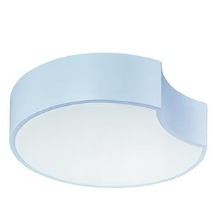 Cells LED Matte White LED Flush Mount