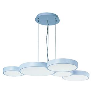Cells LED Matte White 5-Light LED Pendant Energy Star