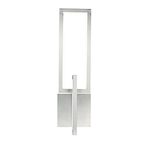 Link Satin Nickel Two-Light LED Wall Sconce