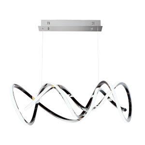 Signature Black Chrome LED Pendant