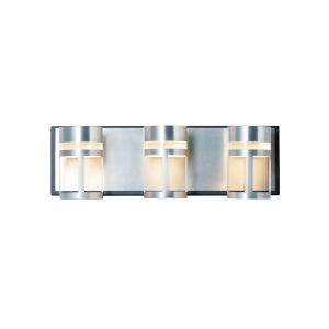 Accord Black and Brushed Aluminum 18-Inch Three-Light LED Bath Vanity