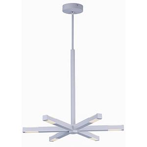 Spoke LED Matte White 12-Light LED Pendant Energy Star