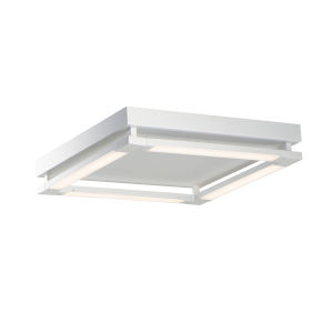 Rotator Matte White 20-Inch Four-Light LED Flush Mount