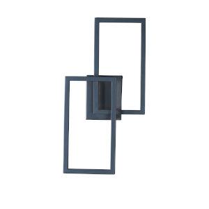 Traverse LED Black 20-Inch Bath Vanity