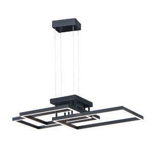 Traverse LED Black 24-Inch LED Pendant