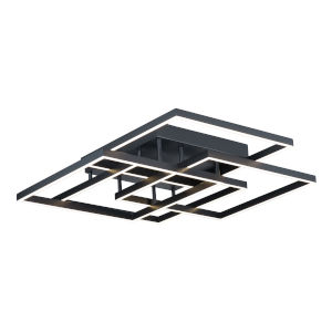 Traverse LED Black 31-Inch LED Flush Mount
