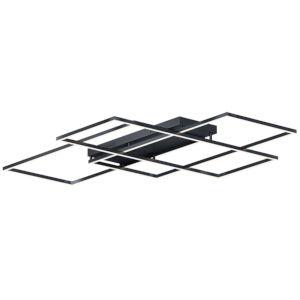 Traverse LED Black 68-Inch LED Flush Mount