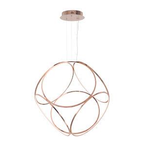 Form Rose Gold One-Light LED Suspension Pendant