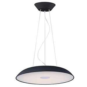Dimple Black 29-Inch LED Pendant