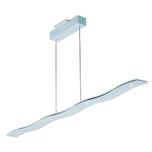 Roller Matte White 51-Inch LED Linear Pendant Energy Star