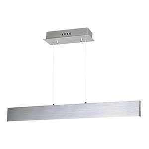 Blade Brushed Aluminum 32-Inch LED Linear Pendant