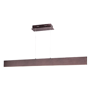 Blade Anodized Bronze 43-Inch LED Linear Pendant
