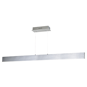 Blade Brushed Aluminum 53-Inch LED Linear Pendant