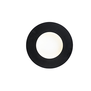 Orbital Black and White ADA LED Wall Sconce
