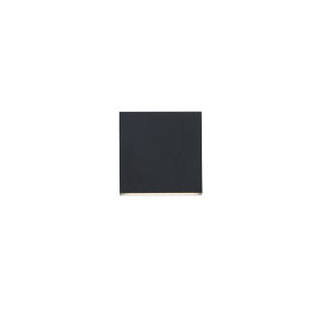 Rinkle Black Two-Light ADA LED Wall Sconce