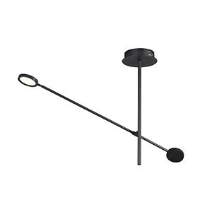 Paddle Black LED Pendant