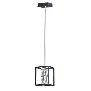 Deuce Black One-Light LED Mini Pendant