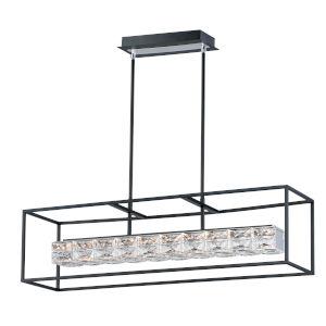 Zephyr Black One-Light LED Mini Pendant