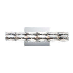 Polished Chrome One-Light 12-Inch ADA LED Wall Sconce