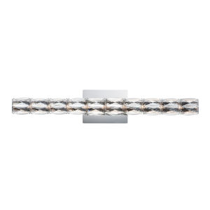 Zephyr Polished Chrome One-Light ADA LED Wall Sconce