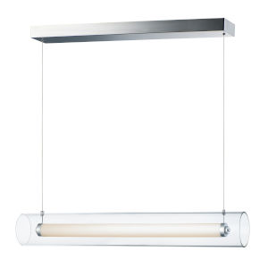 Centrum Polished Chrome 35-Inch LED Linear Pendant