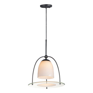 Focal Point Black 15-Inch LED Pendant